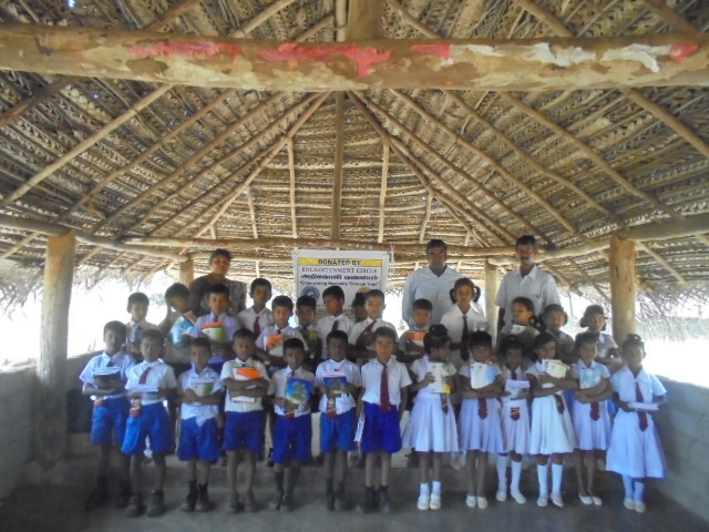 Vidya Dhanam - Educational materials distribution to vanni children